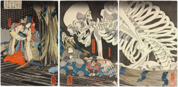 kuniyoshi_Takiyasha_the_Witch_and_the_Skeleton_Spectre