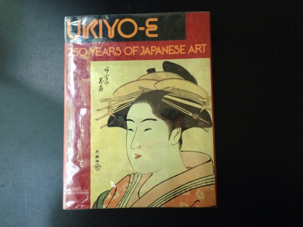 book Cover of Ukiyo-e: 250 years of Japanese Art