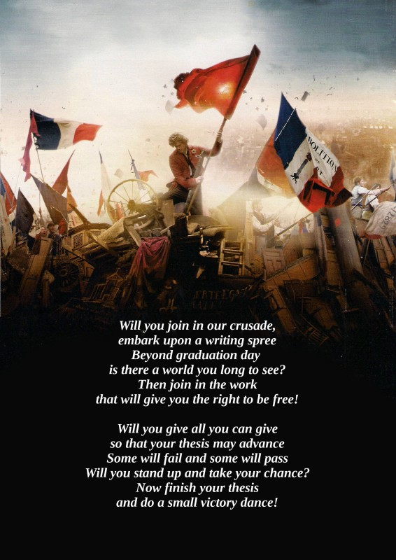 les miserables thesis poster